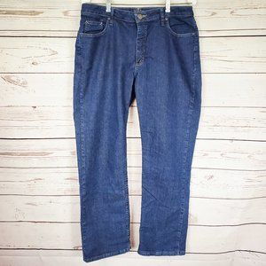 Riders by Lee Tapered Blue Medium Wash Jeans 14M